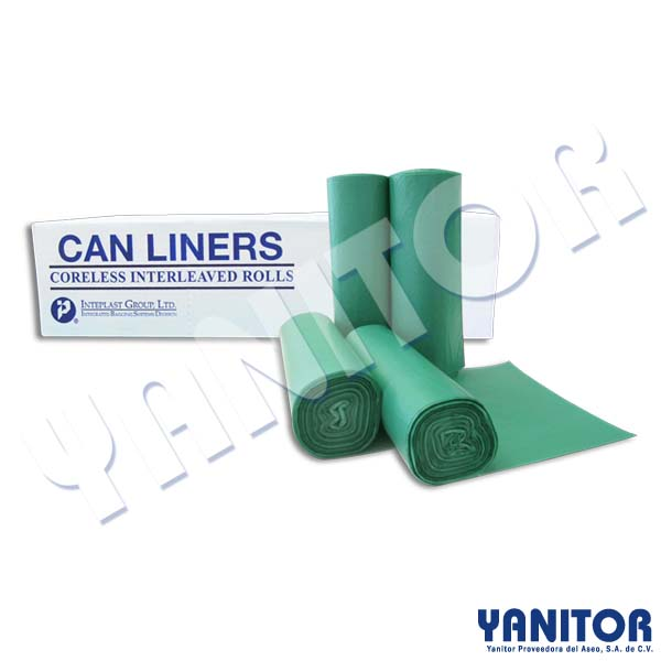 CAN LINERS 24 X 24 OXO-BIODEGRADABLE 1000 BAGS