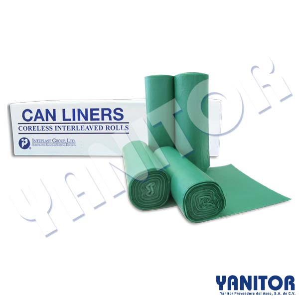 CAN LINER 33 X 39 OXO-BIODEGRADABLE, 500 BAGS