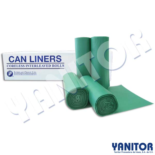 CAN LINERS 38 X 58 OXO-BIODEGRADABLE, 200 BAGS